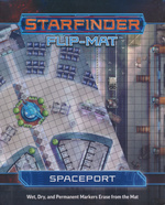 STARFINDER - FLIP-MAT - Spaceport