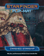 STARFINDER - FLIP-MAT - Crashed Starship