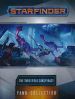 STARFINDER - PAWNS - Threefold Conspiracy Pawn Collection