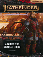 PATHFINDER 2ND EDITION - ADVENTURE PATH - Age of Ashes Part 5 - Against the Scarlet Triad