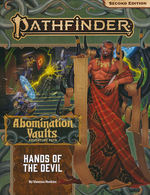 PATHFINDER 2ND EDITION - ADVENTURE PATH - Abomination Vaults Part 2 - Hands of the Devil