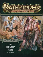 PATHFINDER - ADVENTURE PATH - Giantslayer Part 2 - The Hill Giants Pledge