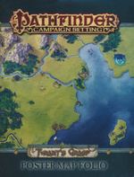 PATHFINDER - CAMPAIGN SETTING - MAP FOLIO - Tyrant`s Grasp Poster Map Folio