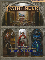 PATHFINDER 2ND EDITION - Lost Omens - Gods and Magic Hardcover