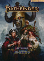 PATHFINDER 2ND EDITION - Lost Omens - Legends Hardcover