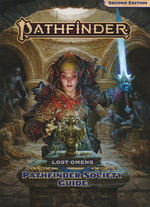 PATHFINDER 2ND EDITION - Lost Omens - Pathfinder Society Guide Hardcover