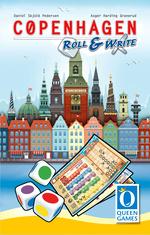 COPENHAGEN - DANSK - Copenhagen Roll & Write (Engelsk, Hollandsk, Fransk og Tysk) - TILBUD (så længe lager haves, der tages forbehold for udsolgte varer)