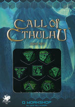 TERNINGER - CALL OF CTHULHU LIMITED - Black with Green (7)