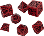 TERNINGER - CALL OF CTHULHU LIMITED - Other Gods Dice Set Nyarlathotep (7)