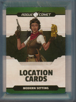 DUNGEONS & DRAGONS NEXT (5TH ED.) - LICENSED - Location Cards: Modern Setting