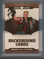 DUNGEONS & DRAGONS NEXT - LICENSED - Modern & Sci-Fi Setting Background Cards