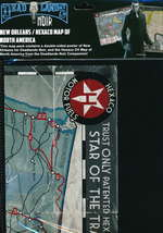 SAVAGE WORLDS - DEADLANDS NOIR - Map New Orleans/Hexaco - TILBUD (så længe lager haves, der tages forbehold for udsolgte varer)