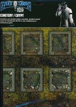 SAVAGE WORLDS - DEADLANDS NOIR - Map Cemetery/Crypt - TILBUD (så længe lager haves, der tages forbehold for udsolgte varer)