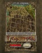 SAVAGE WORLDS - LANKHMAR - Lankhmar Poster Map - TILBUD (så længe lager haves, der tages forbehold for udsolgte varer)