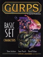 GURPS 4TH - GURPS 4th Edition Basic Set V1 Characters HC 2nd Printing