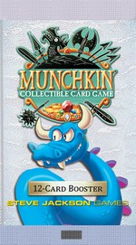 MUNCHKIN COLLECTABLE CARD GAME - Munchkin Collectible Card Game: Booster