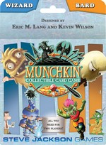 MUNCHKIN COLLECTABLE CARD GAME - Wizard/Bard Starter