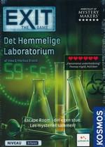 EXIT - DANSK - Det hemmelige laboratorium (Sværhedsgrad 3,5)