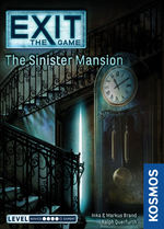 EXIT - Sinister Mansion, The  (Level 3 Complexity)