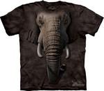 T-SHIRTS - THE MOUNTAIN - CHILDRENS SIZES - Elephant Face (CM) - TILBUD (så længe lager haves, der tages forbehold for udsolgte varer)
