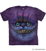 T-SHIRTS - THE MOUNTAIN - Big Face Cheshire Cat (XXL)