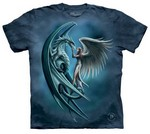 T-SHIRTS - THE MOUNTAIN - Angel & Dragon (L)