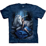 T-SHIRTS - THE MOUNTAIN - Blue Moon (L)