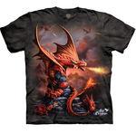 T-SHIRTS - THE MOUNTAIN - CHILDRENS SIZES - Fire Dragon (CS)