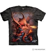 T-SHIRTS - THE MOUNTAIN - Fire Dragon (XXL)