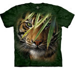 T-SHIRTS - THE MOUNTAIN - CHILDRENS SIZES - Emerald Forest (CL)