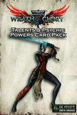 WARHAMMER 40K WRATH & GLORY - Talents and Psychic Powers Card Pack