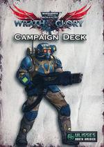 WARHAMMER 40K WRATH & GLORY - Campaign Card Deck