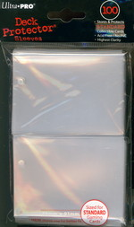 SLEEVES - Clear 100ct Deck Protector Pack