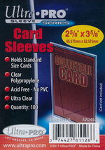 SLEEVES - Trading Card Soft Sleeves