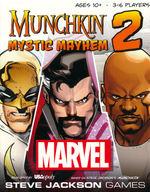 MUNCHKIN - MARVEL - Marvel Edition 2 - Mystic Mayhem Expansion