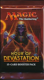 MAGIC THE GATHERING - Hour of Devastation Booster