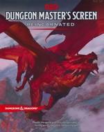DUNGEONS & DRAGONS NEXT (5TH ED.) - Dungeon Master`s Screen Reincarnated