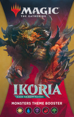 MAGIC THE GATHERING - Ikoria - Lair of Behemoths Monsters Theme Booster