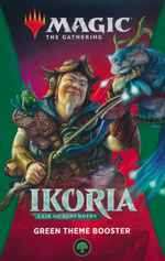 MAGIC THE GATHERING - Ikoria - Lair of Behemoths Green Theme Booster