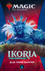 MAGIC THE GATHERING - Ikoria - Lair of Behemoths Blue Theme Booster