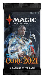 MAGIC THE GATHERING - Core 2021 Booster