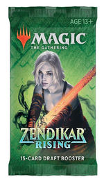 MAGIC THE GATHERING - Zendikar Rising Draft Booster Display (36)