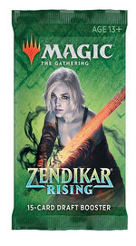 MAGIC THE GATHERING - Zendikar Rising Draft Booster