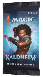 MAGIC THE GATHERING - Kaldheim Draft Booster