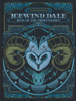 DUNGEONS & DRAGONS NEXT - Icewind Dale - Rime of the Frostmaiden Hard Cover - Alternate Cover