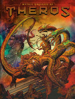 DUNGEONS & DRAGONS NEXT (5TH ED.) - Mythic Odysseys of Theros Hardcover - Alternate Cover