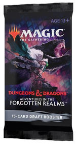 MAGIC THE GATHERING - Adventures in the Forgotten Realms Draft Booster