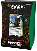 MAGIC THE GATHERING - Adventures in the Forgotten Realms Draconic Rage Commander Deck