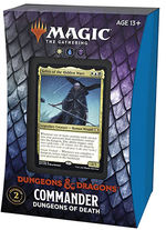 MAGIC THE GATHERING - Adventures in the Forgotten Realms Dungeons of Death Commander Deck