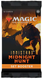 MAGIC THE GATHERING - Innistrad - Midnight Hunt Set Booster